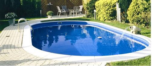 Wassergarten honcak pool for Pool aufstellbecken oval